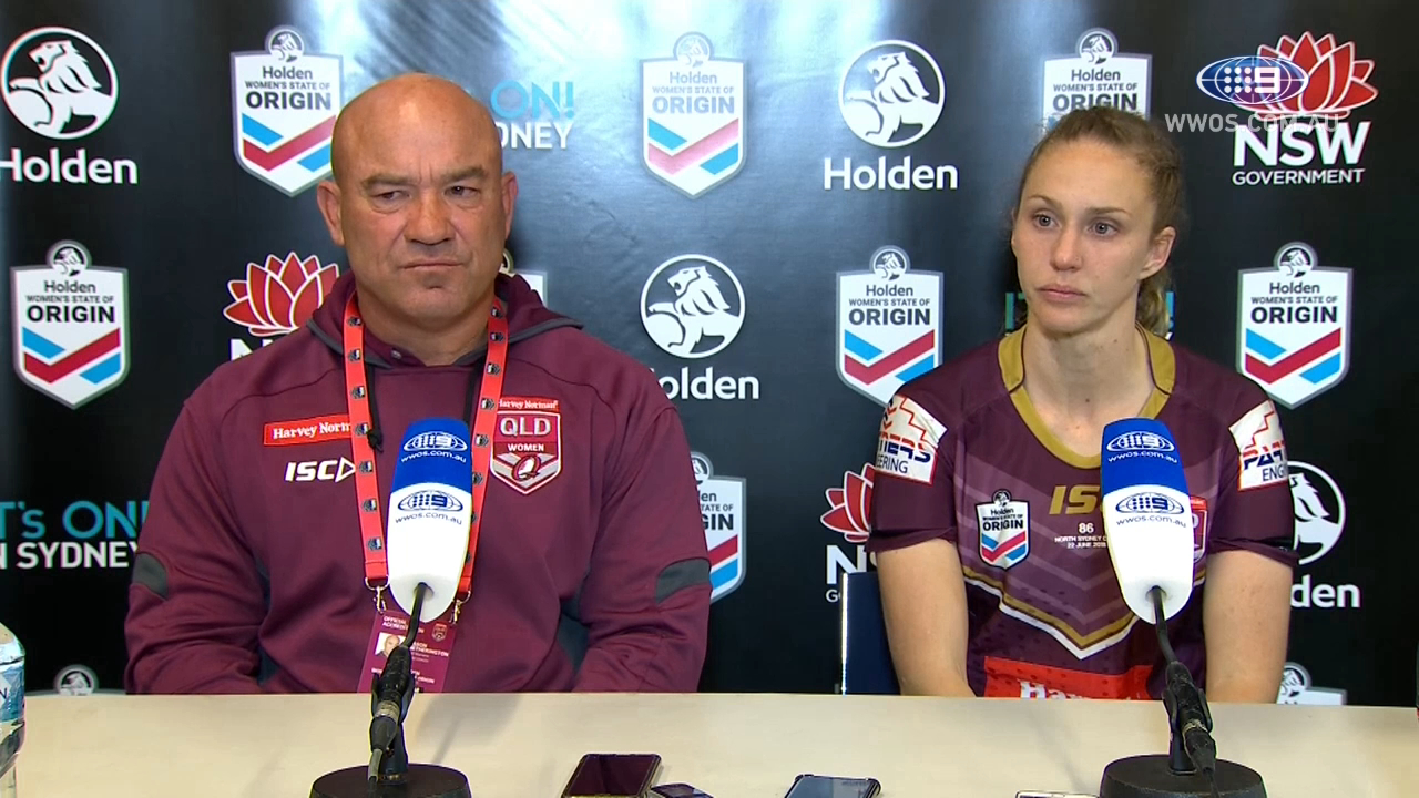 Women's State of Origin: QLD Press Conference