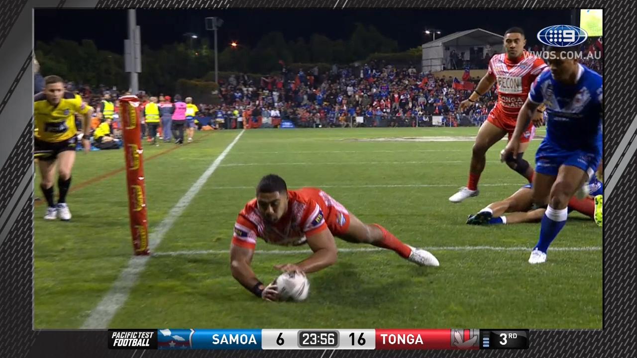 HALF TIME: Samoa v Tonga highlights