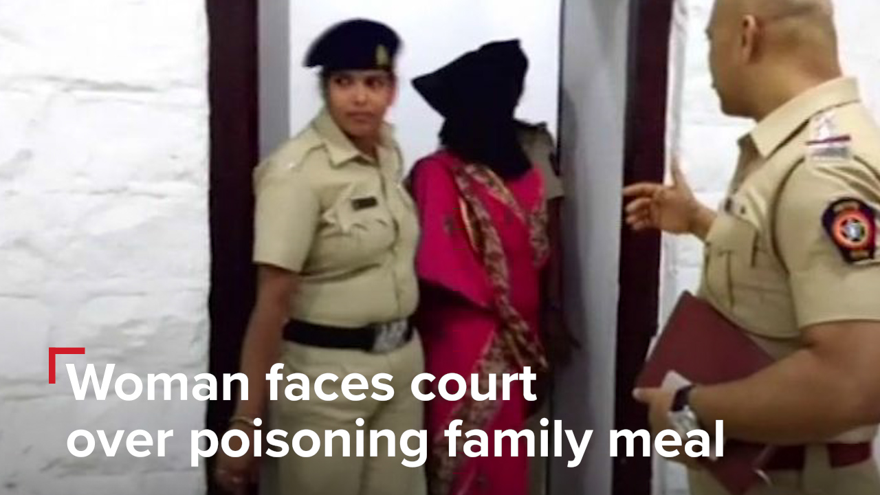 Woman arrested for poisoning family feast