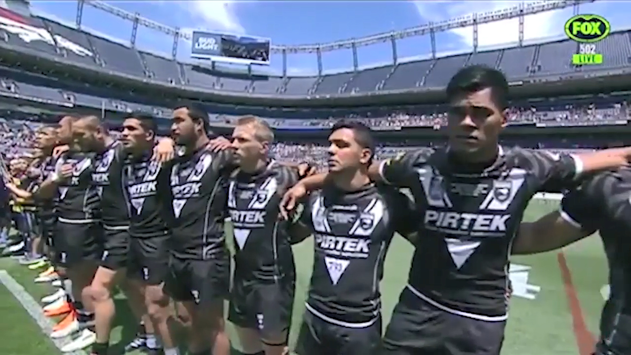 New Zealand anthem disaster mars Denver Test