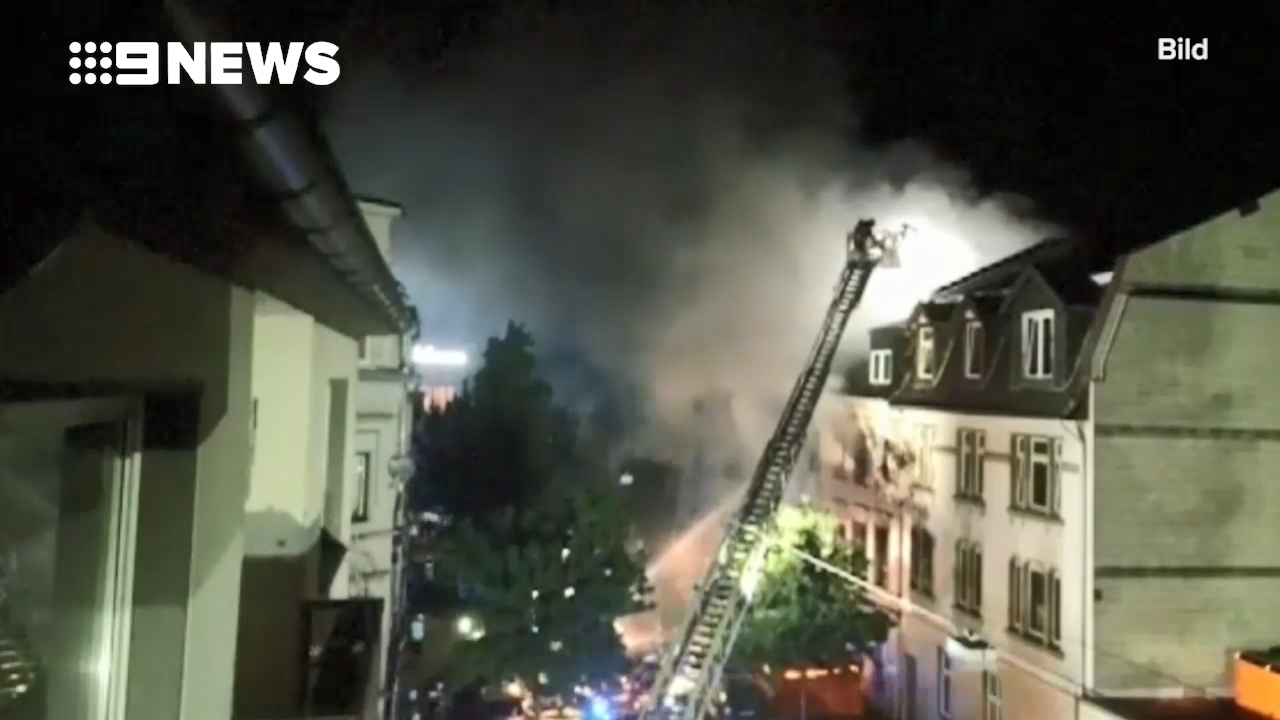 Explosion injures several in Germany