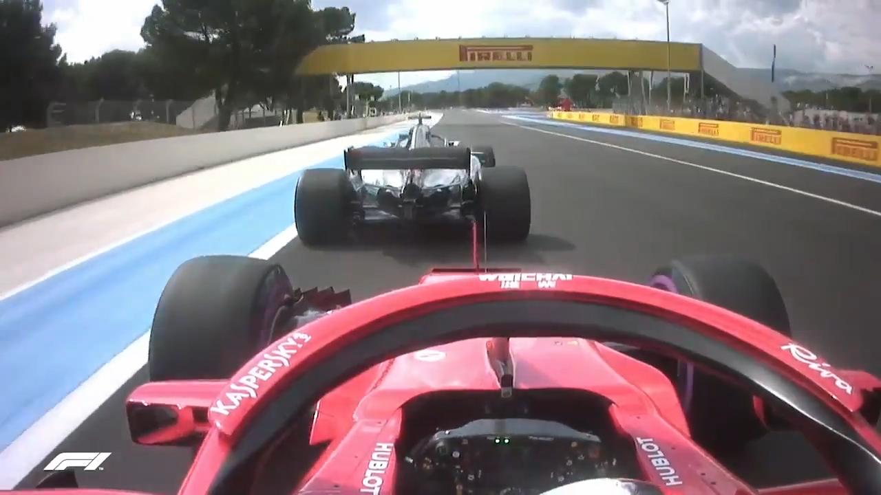 Crash mars start of French Grand Prix