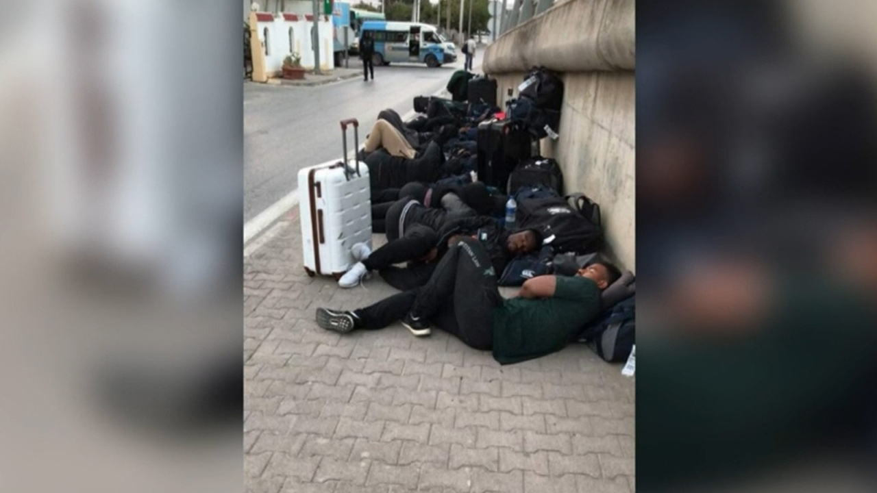 Zimbabwe rugby players forced to sleep on street