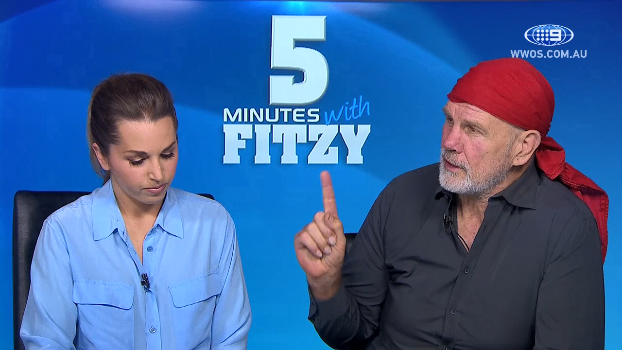 5 Mins with Fitzy: He's got talent to burn