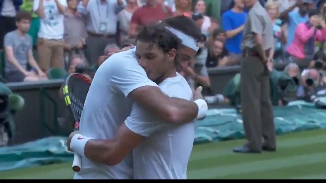 Rafa's incredible show of sportsmanship