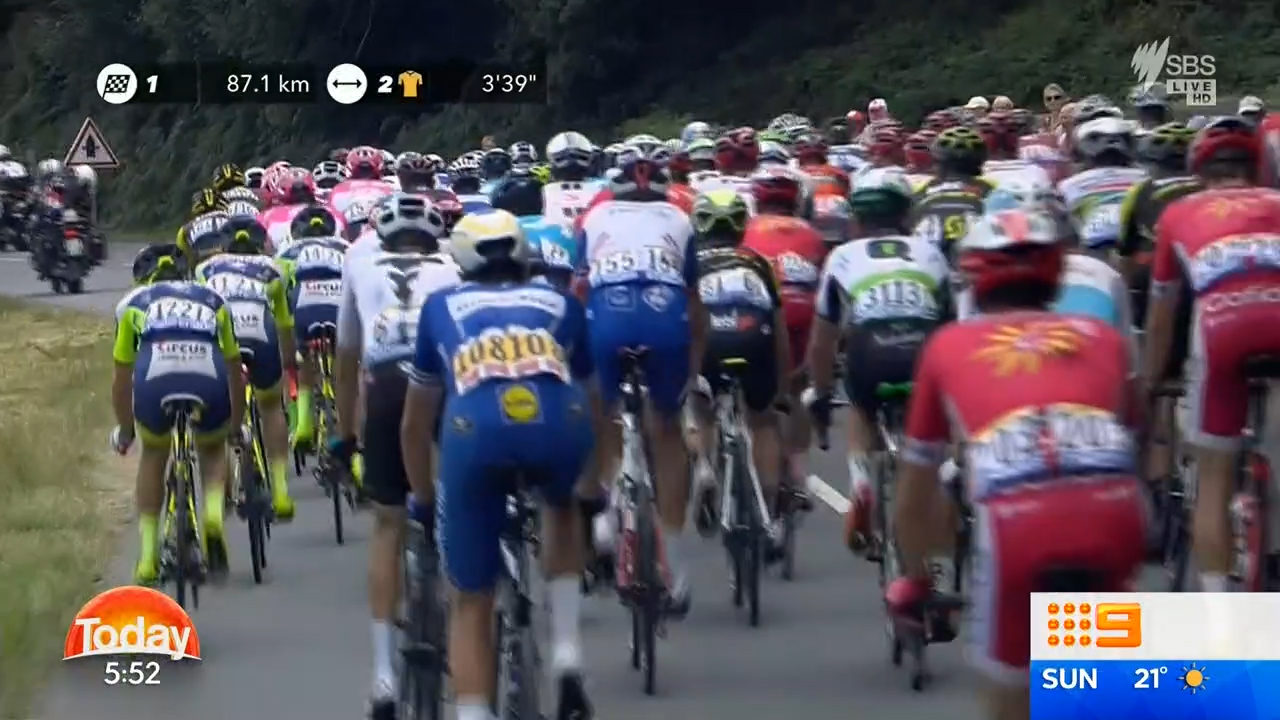 Martin wins sixth stage of Tour de France