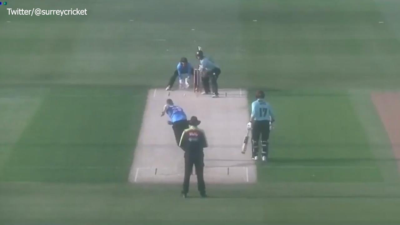 Finch blasts T20 county century
