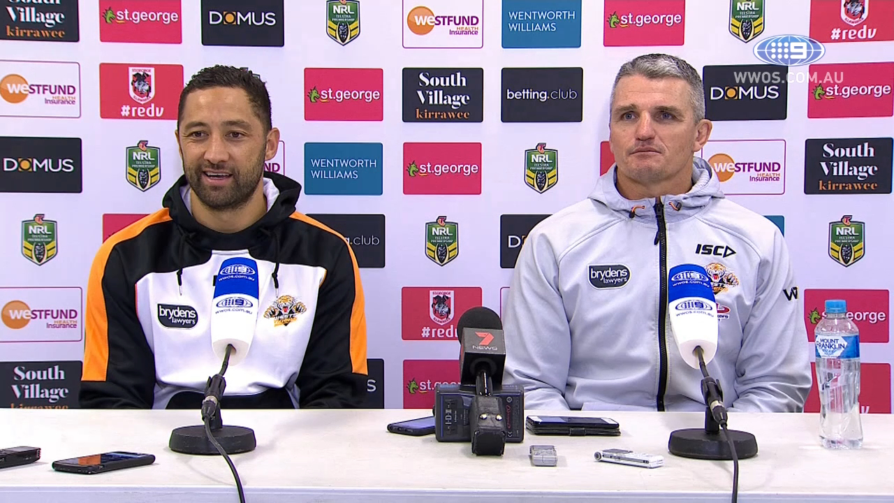 NRL Press Conference: Wests Tigers - Round 18