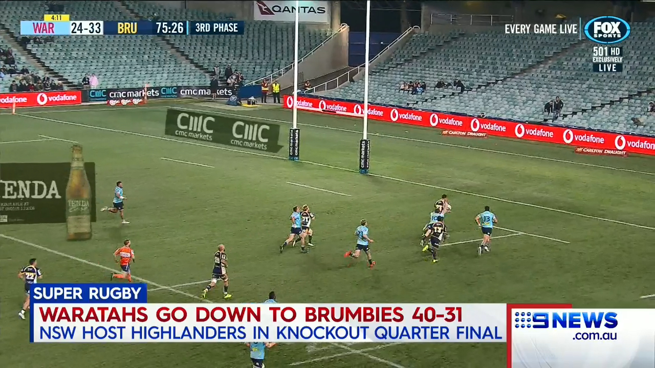 Tahs make finals despite thumping by Brumbies