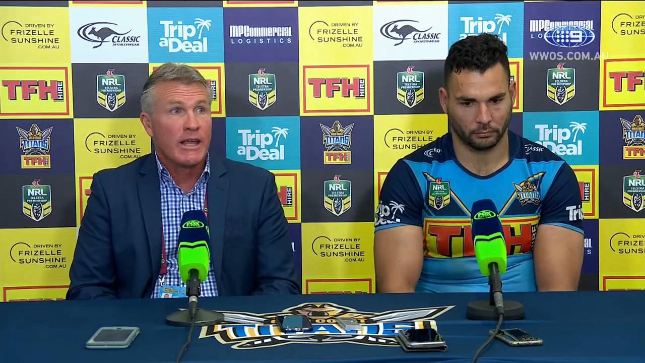 NRL Press Conference: Gold Coast Titans - Round 18