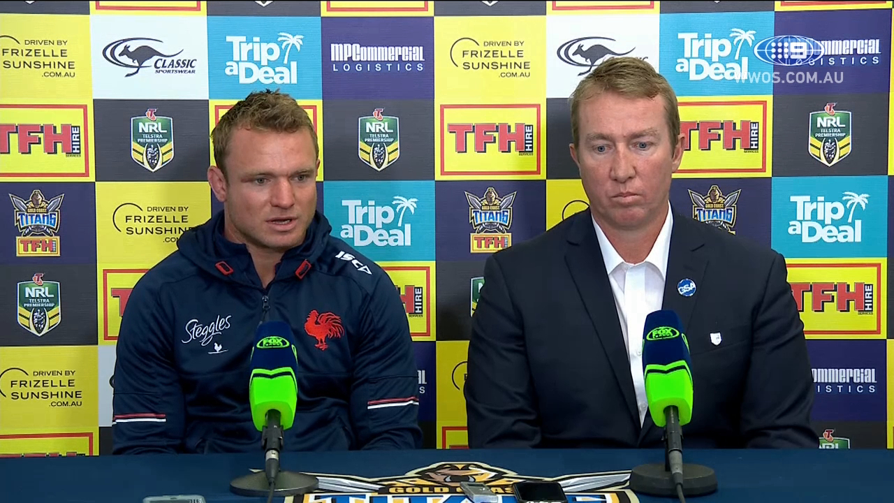 NRL Press Conference: Sydney Roosters - Round 18