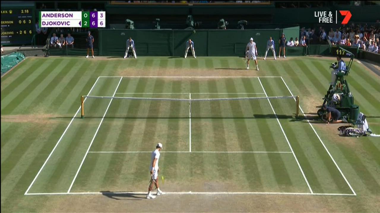 Djokovic claims 2018 Wimbledon title