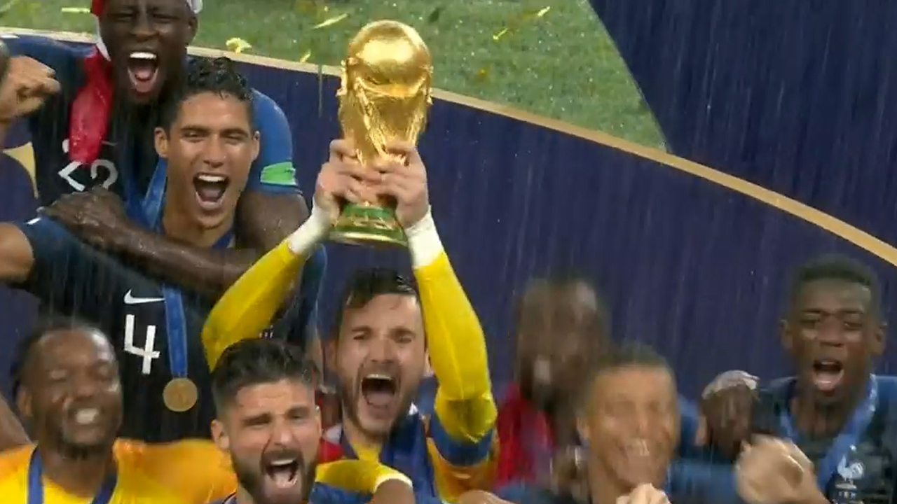 France crowned World Cup champions