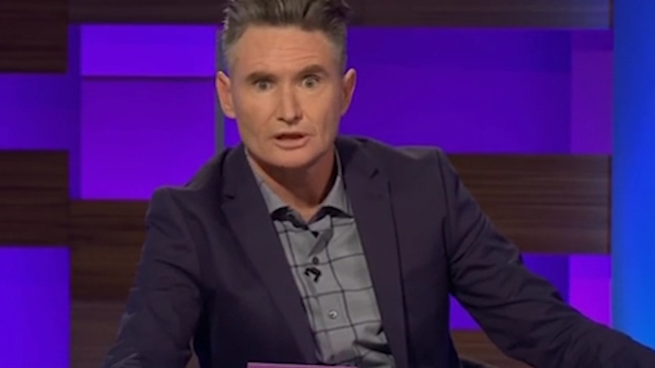 Dave Hughes addresses his previous issues with drugs and alcohol
