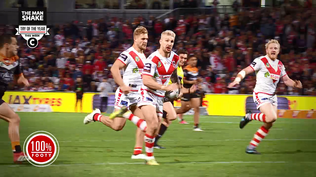 Try of the Year: Round 18