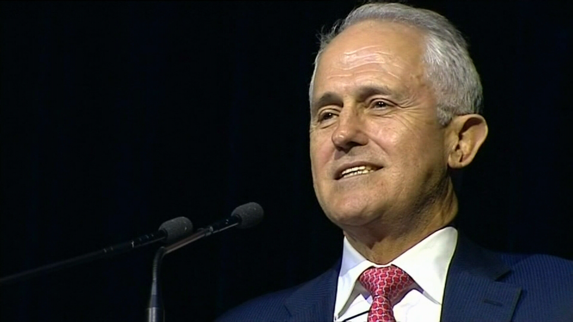 Turnbull winning over voters with energy policy