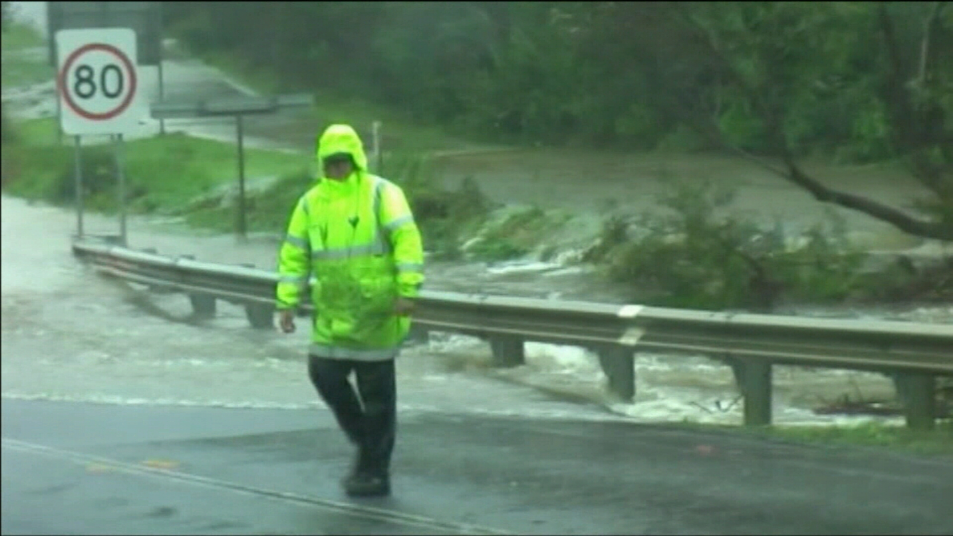 Weather warning issued for eastern states
