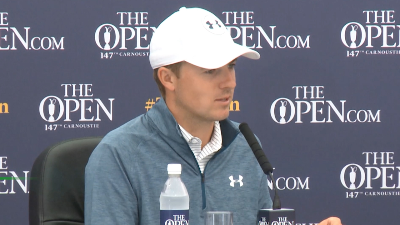 Spieth says returning the Claret Jug was difficult