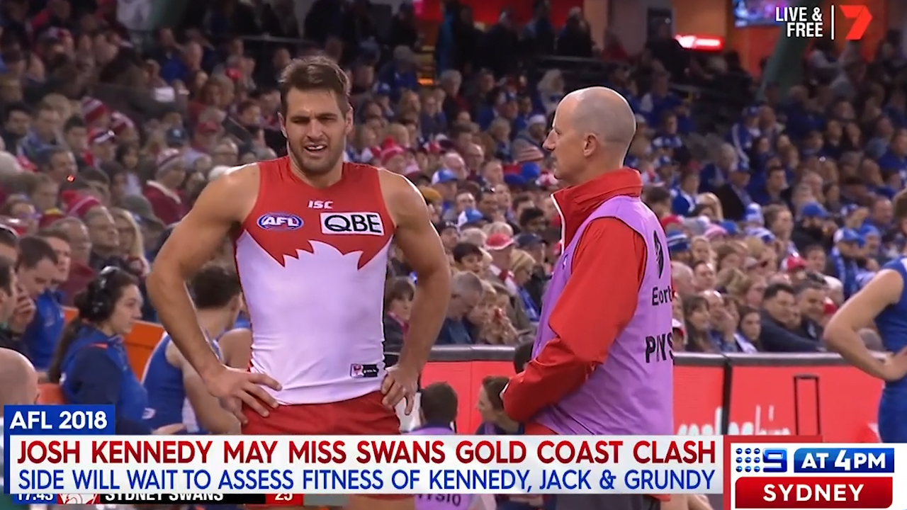 Swans have injury concerns ahead of Gold Coast clash