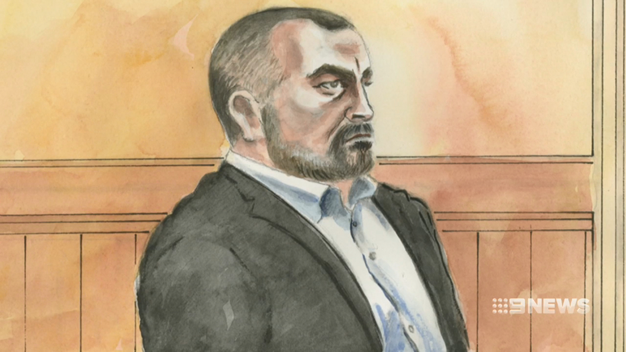 Borce Ristevski shed tears as daughter gave evidence