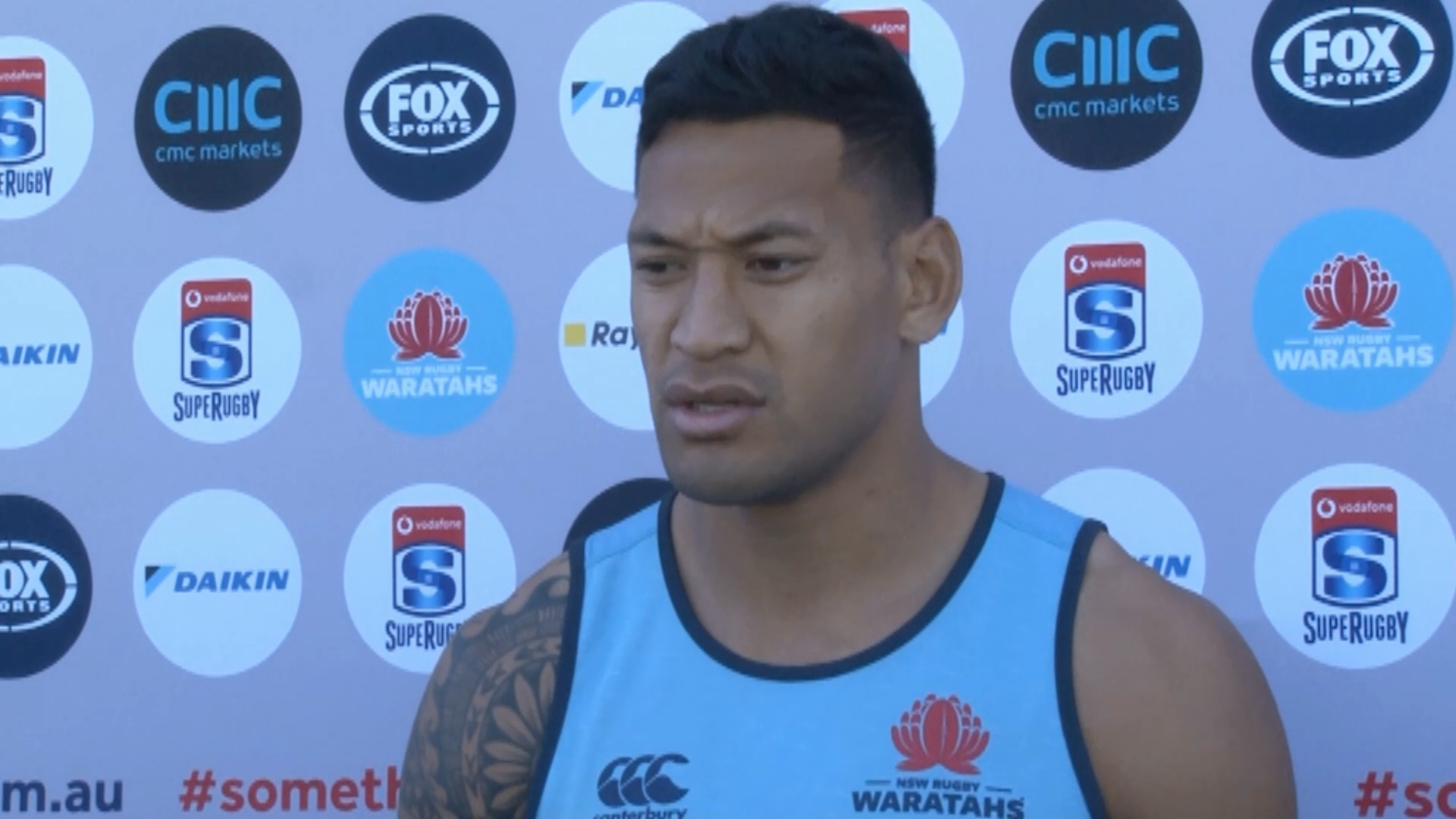 Folau coy on future plans