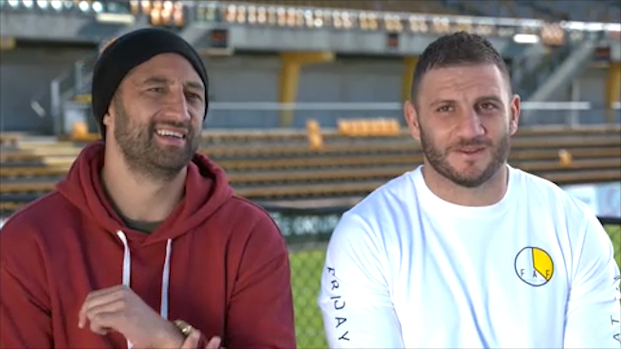 NRL: Benji Marshall's touching tribute for Robbie Farah after 250th game