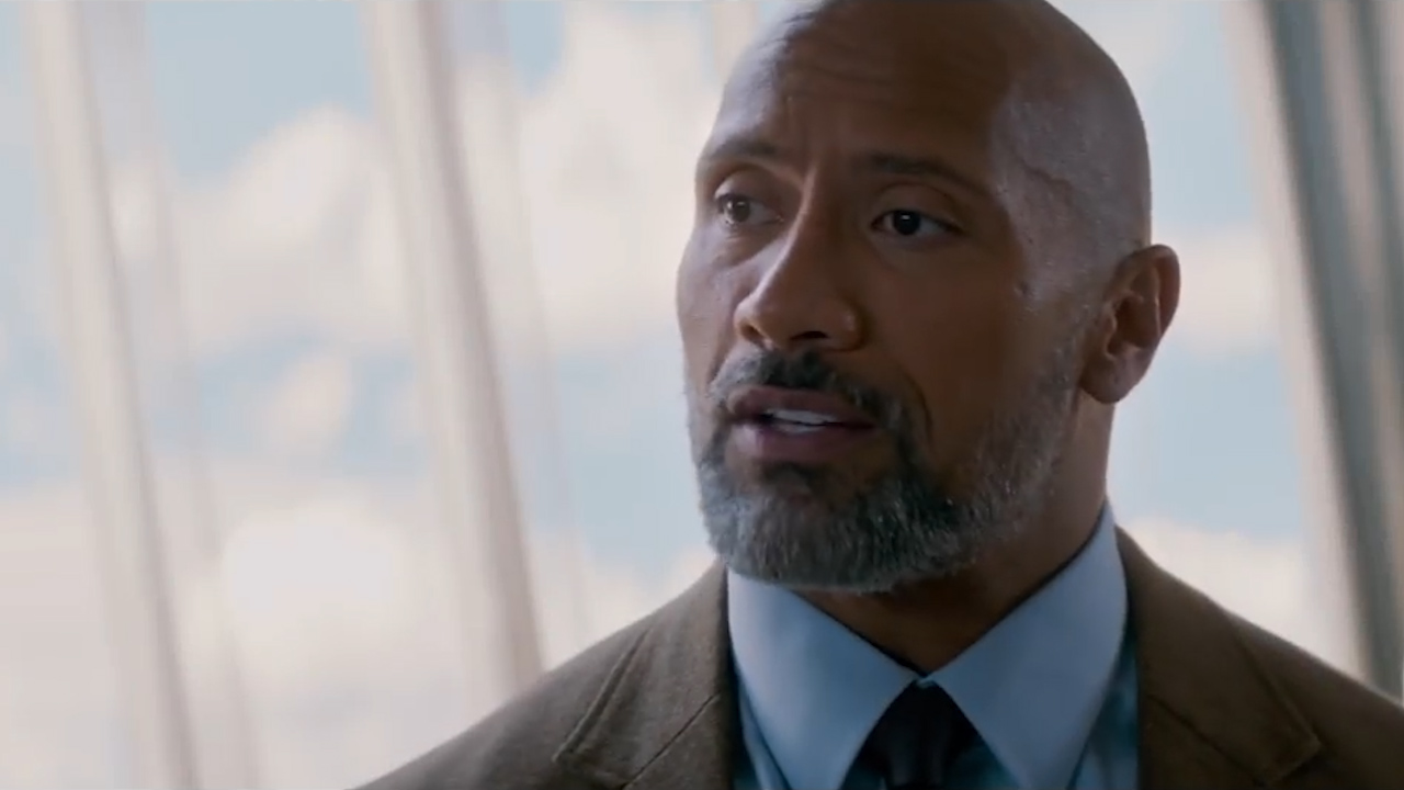 Skyscraper - official trailer / Dwayne 'The Rock' Johnson's film Skyscraper