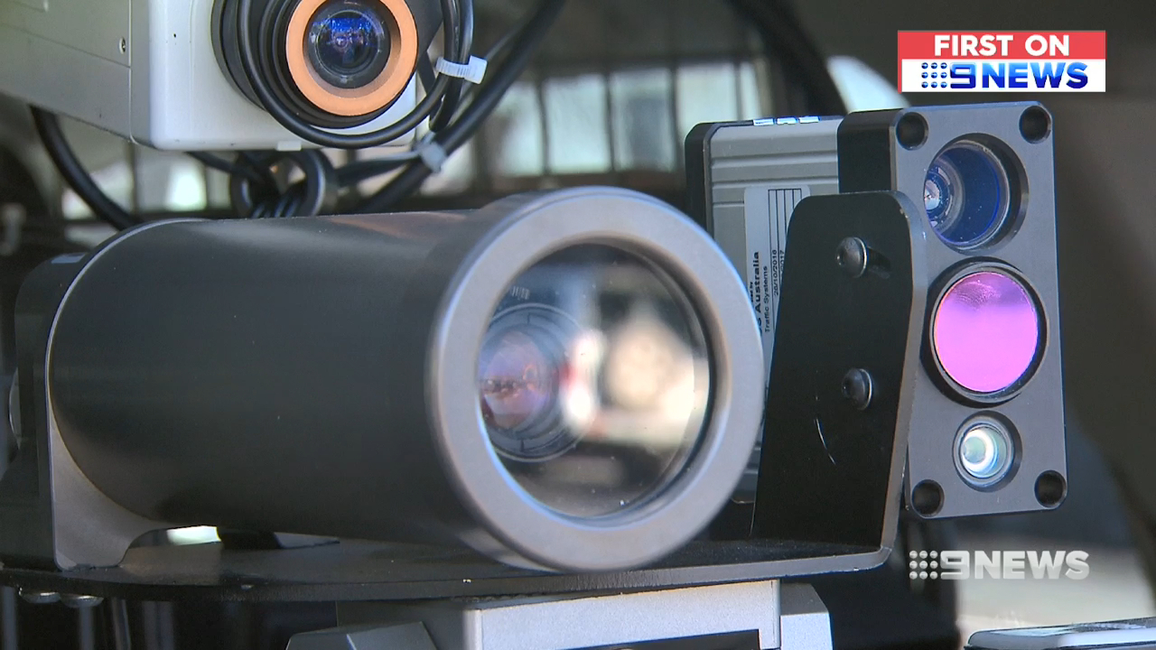 First look at new high-tech speed cameras