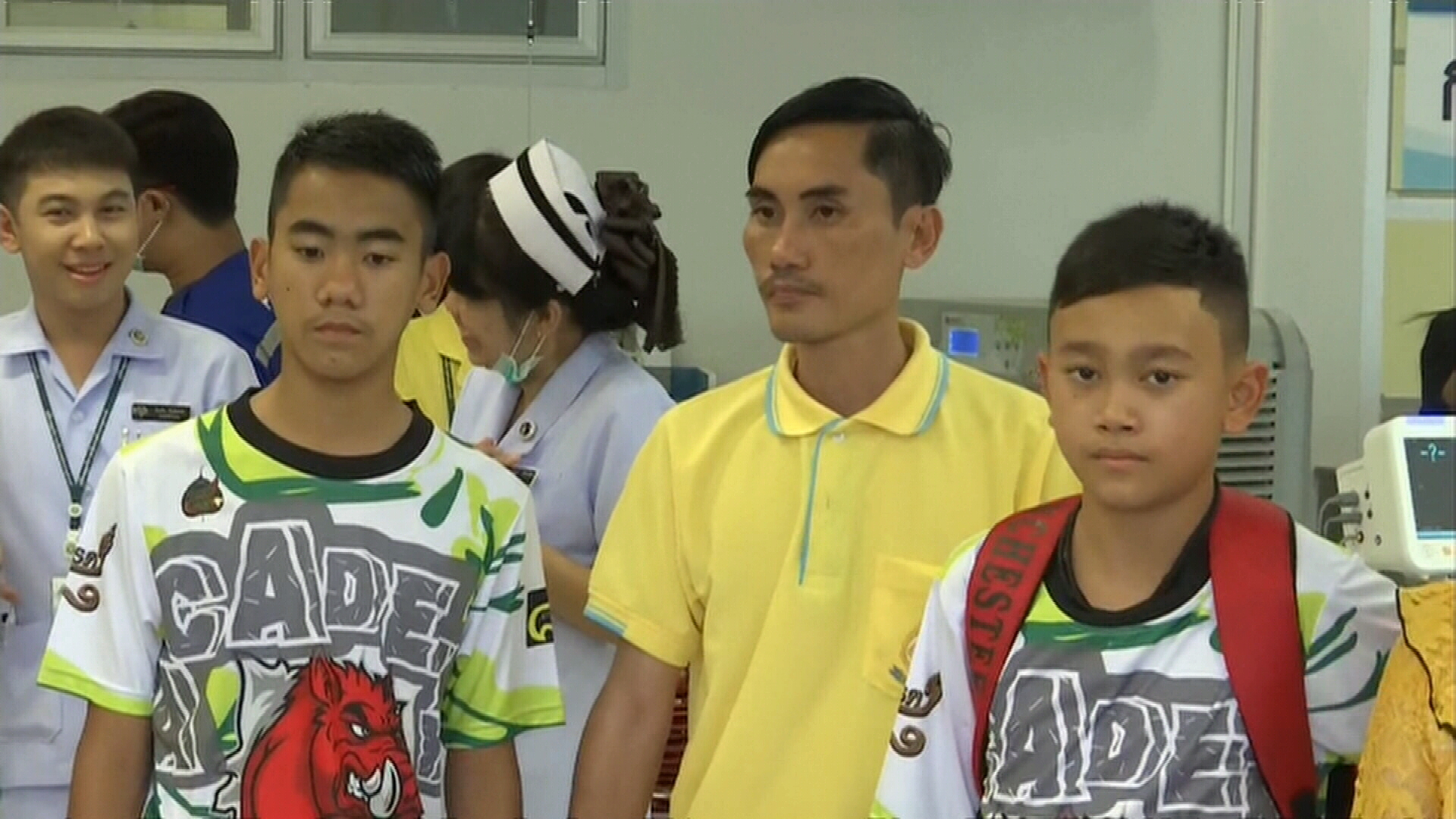 Thai boys set to return home to their families