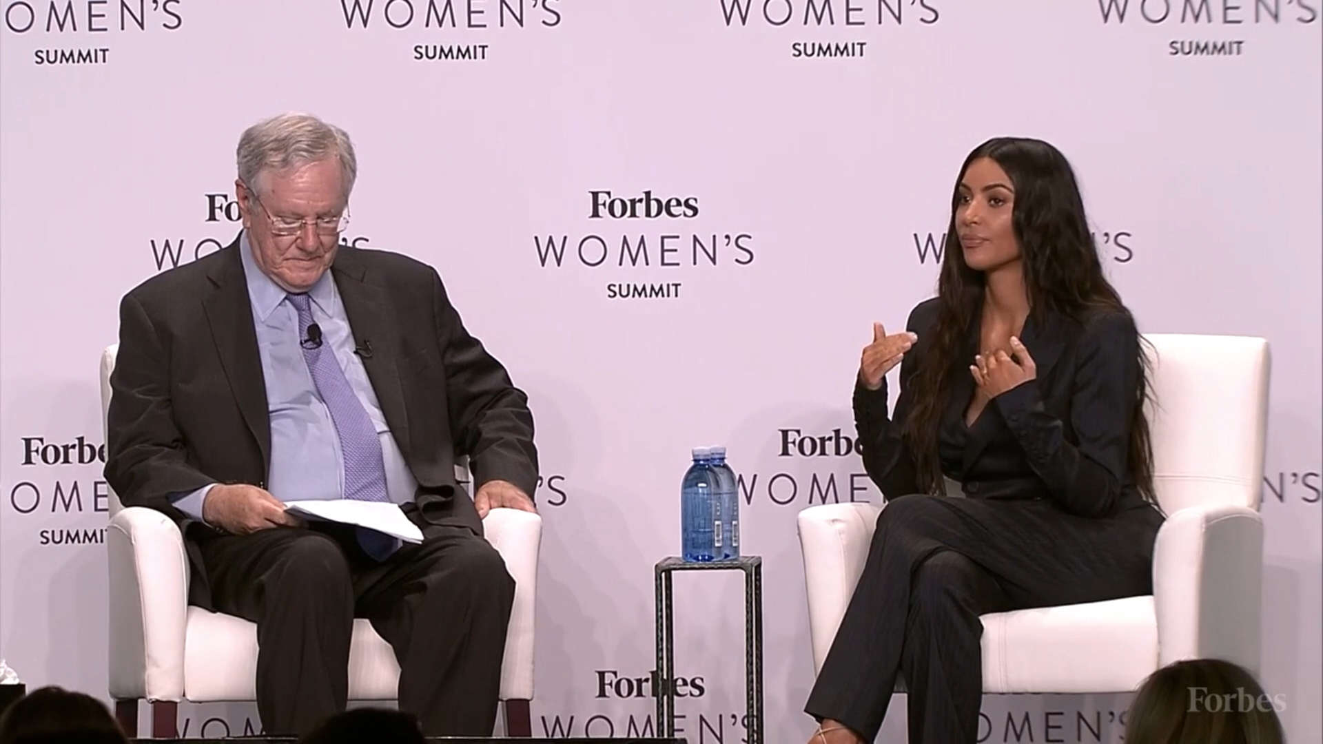 Kim Kardashian discusses her business ventures with Forbes magazine