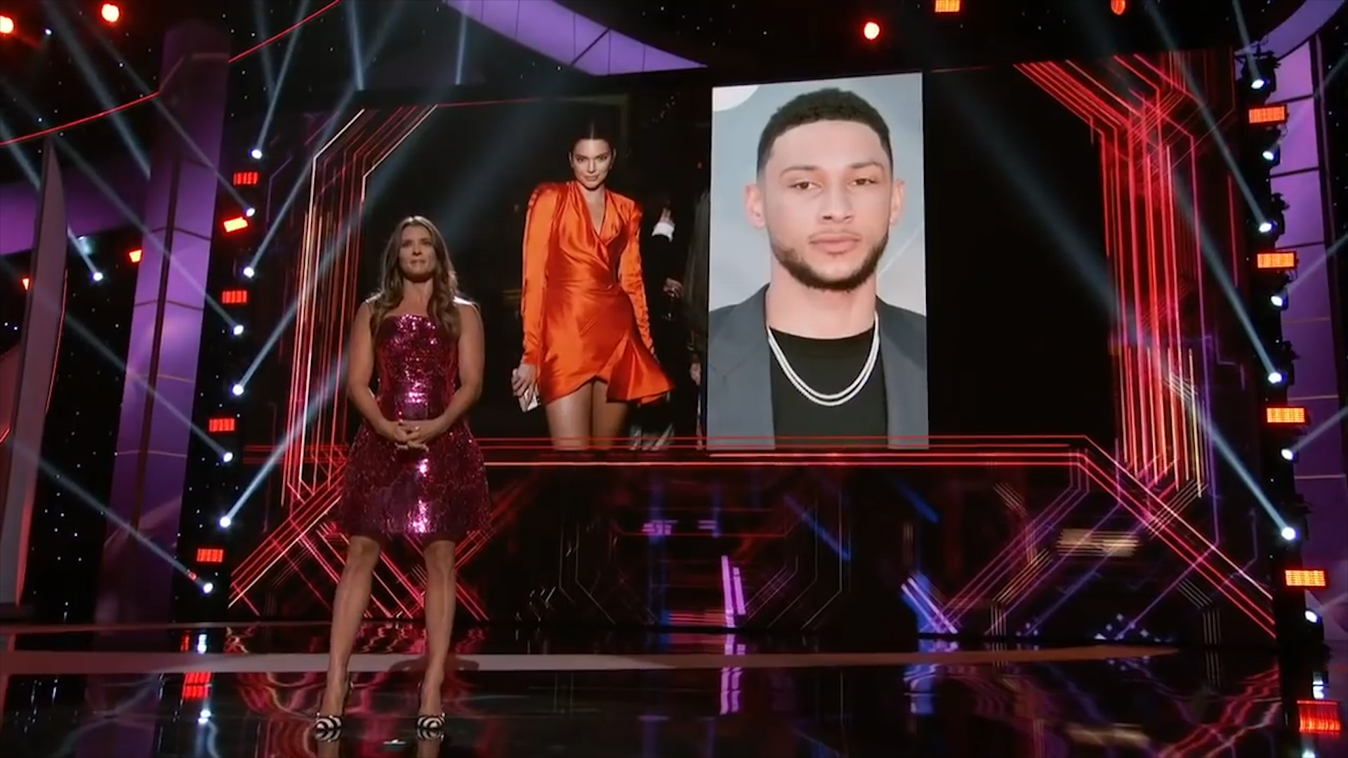 Simmons roasted at ESPY awards