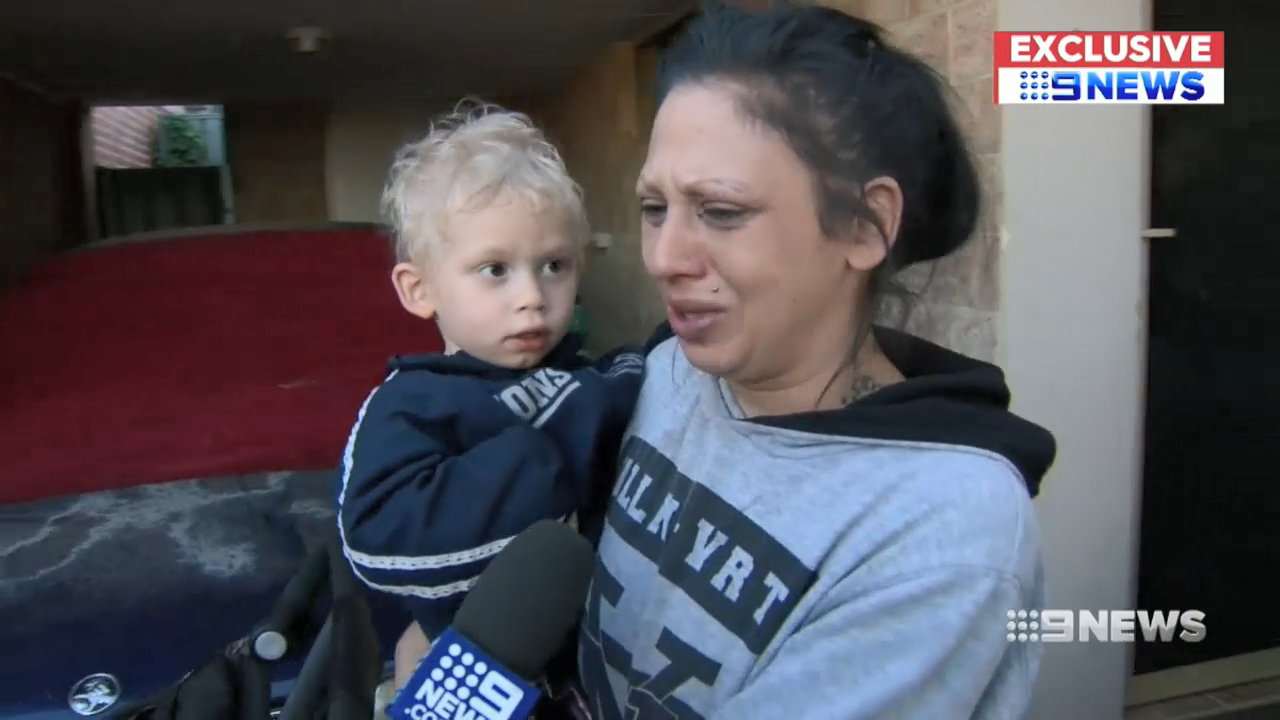 Toddler found after going missing for two hours