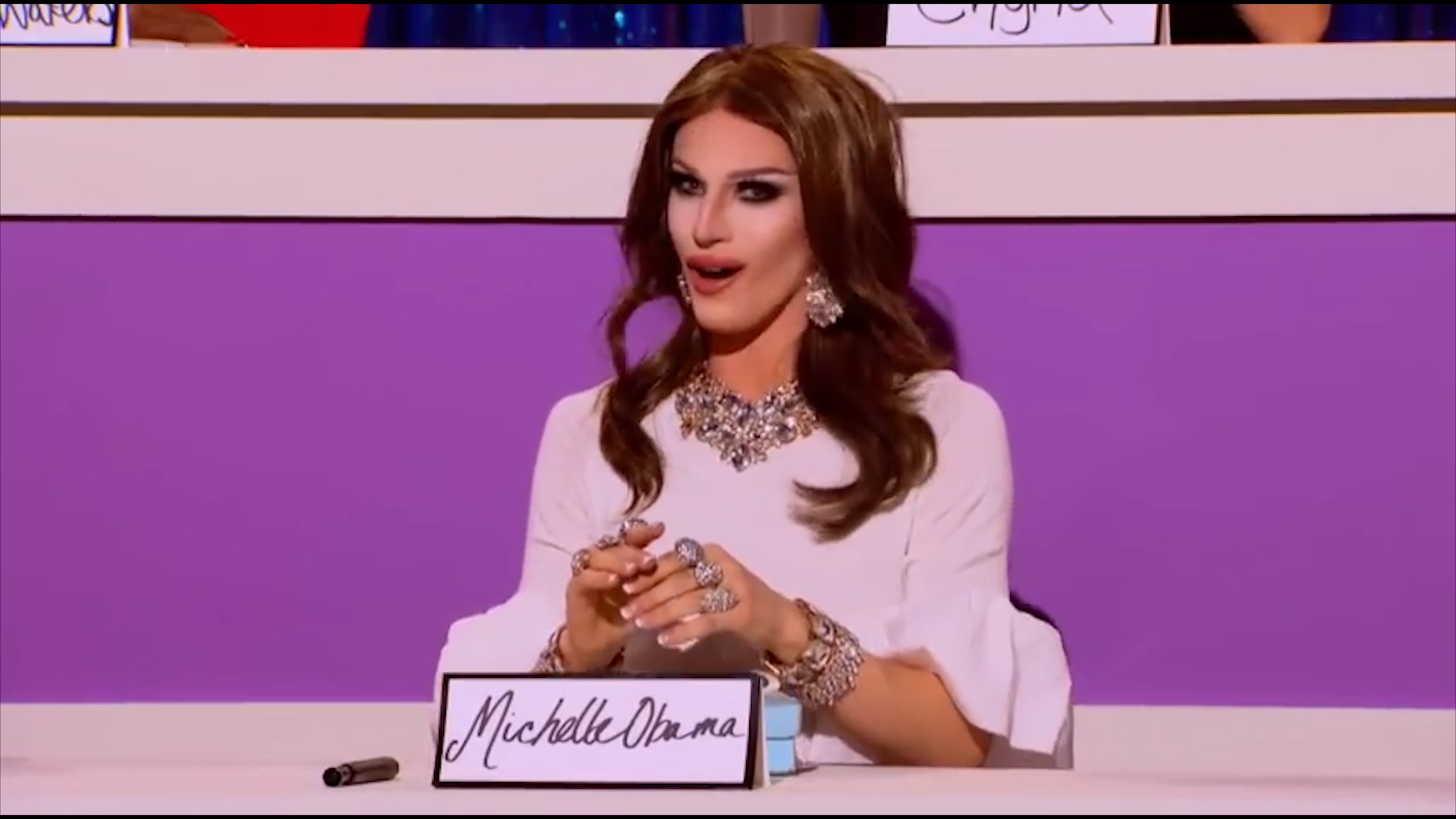 RuPaul's Drag Race: Aquaria plays Melania Trump