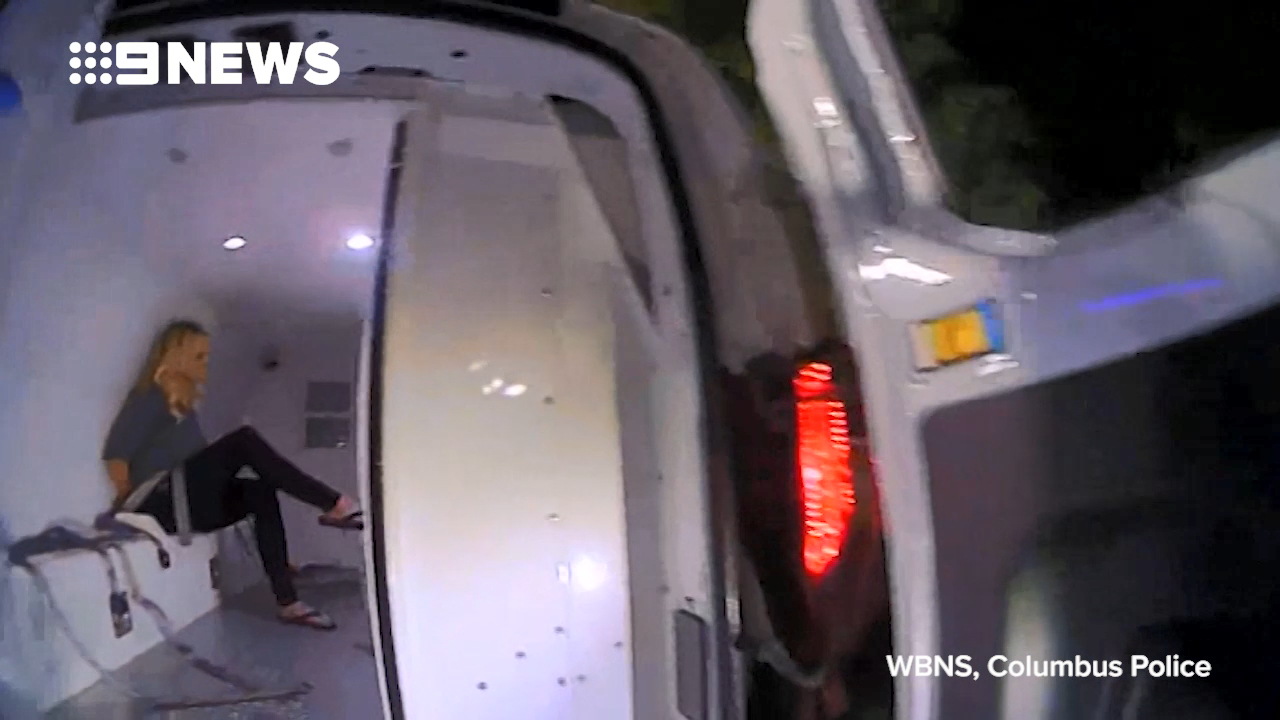 Stormy Daniels arrest footage released