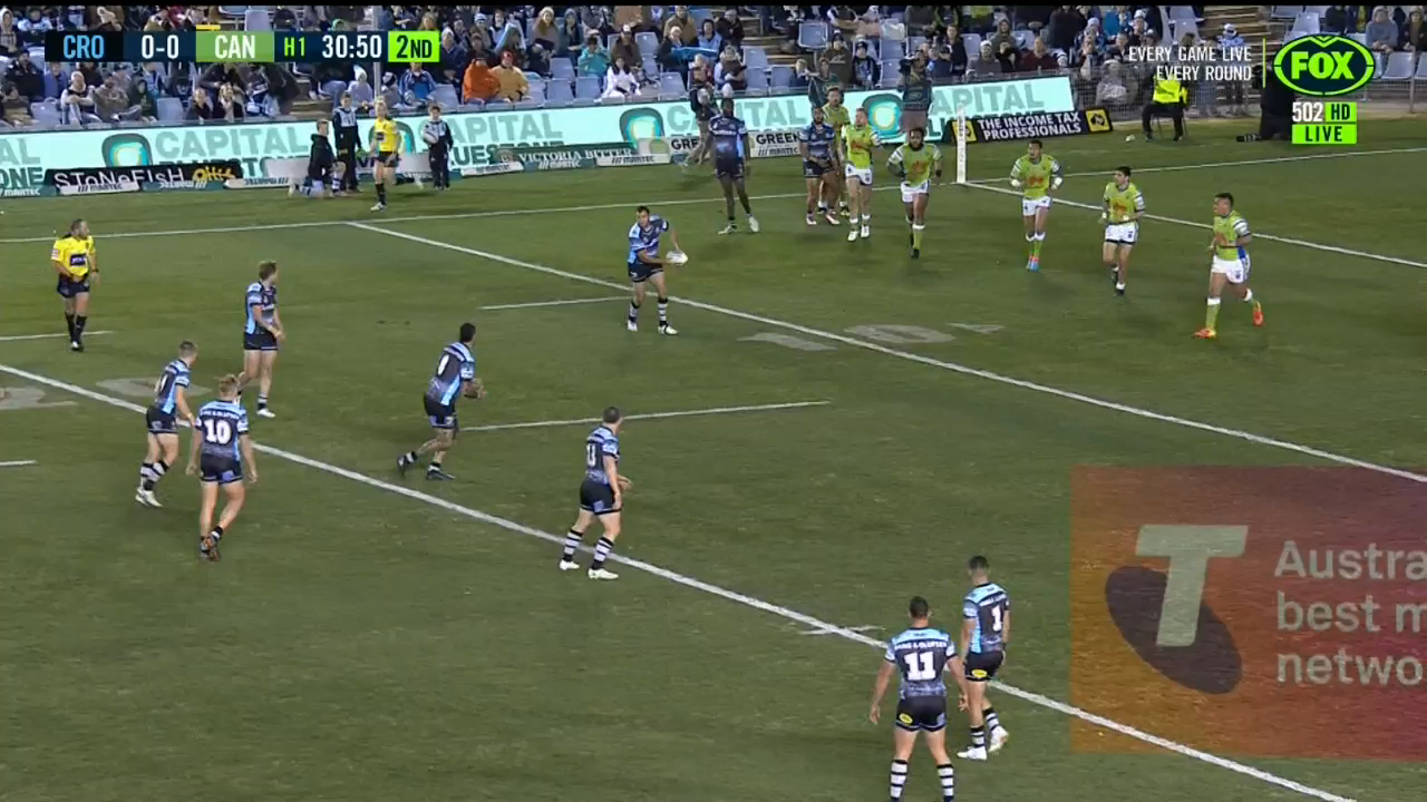 Fifita barrels over the line