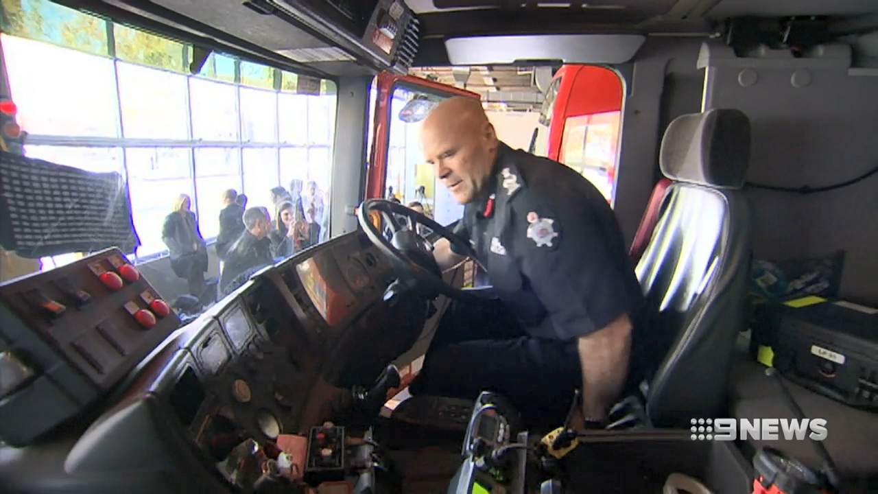Melbourne's new fire chief racks up seven speeding fines