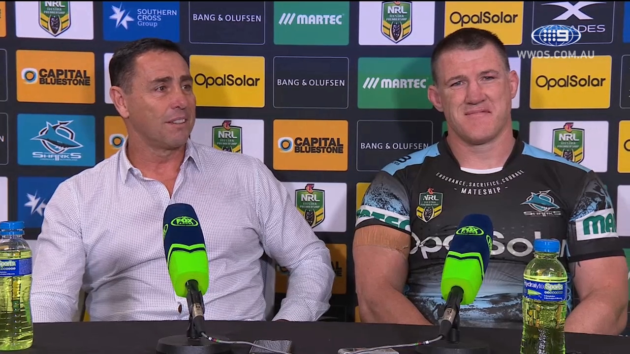 NRL Press Conference: Cronulla Sharks - Round 19