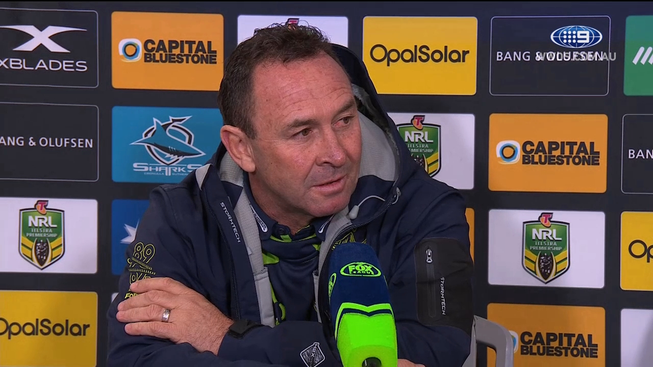 NRL Press Conference: Canberra Raiders - Round 19