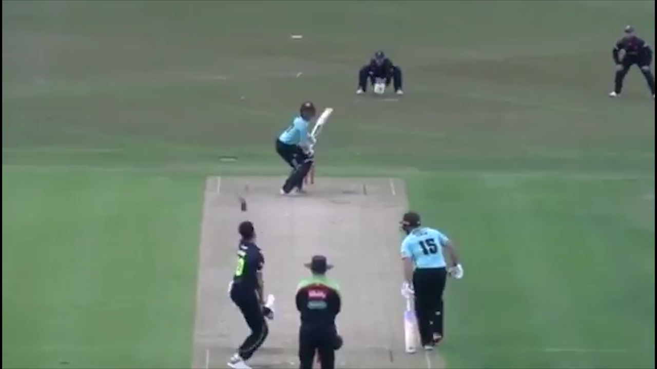 Finch hits fifty off just 19 balls