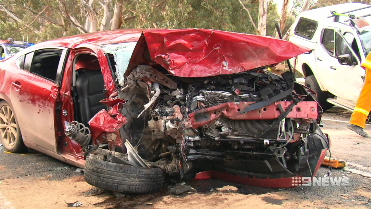 Horror crash leaves two injured