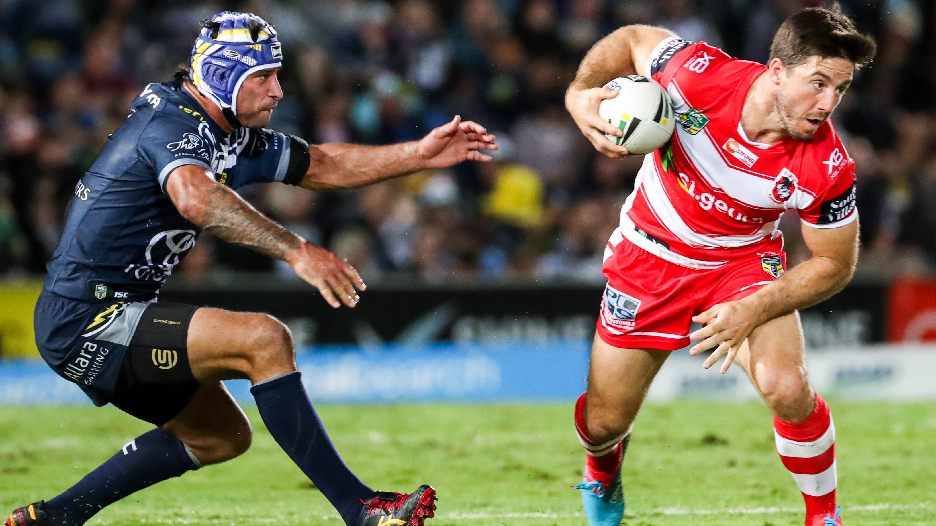 NRL Highlights: North Queensland Cowboys v St George Illawarra Dragons – Round 19