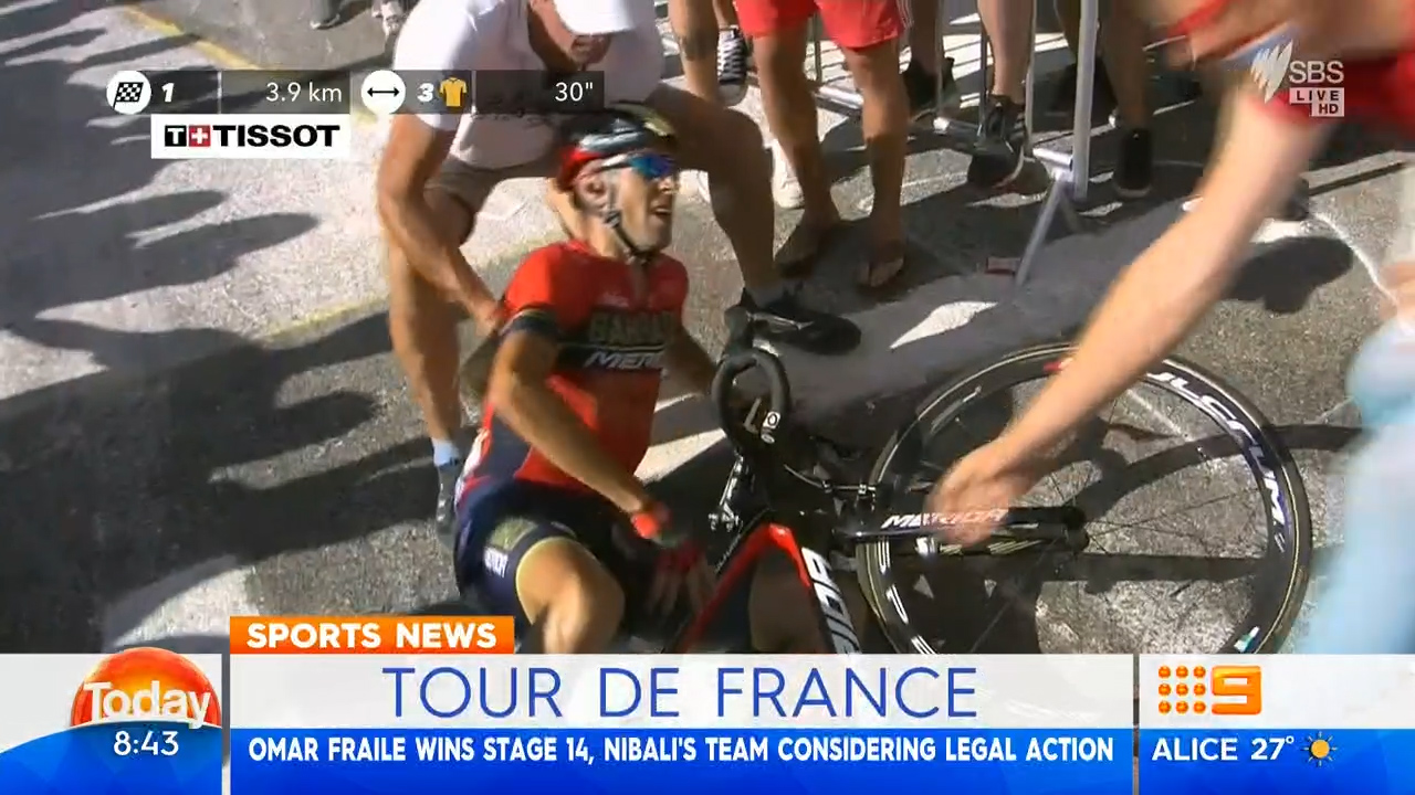 Rider considers legal action against TDF