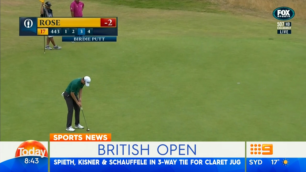 Scott the best-place Aussie at British Open