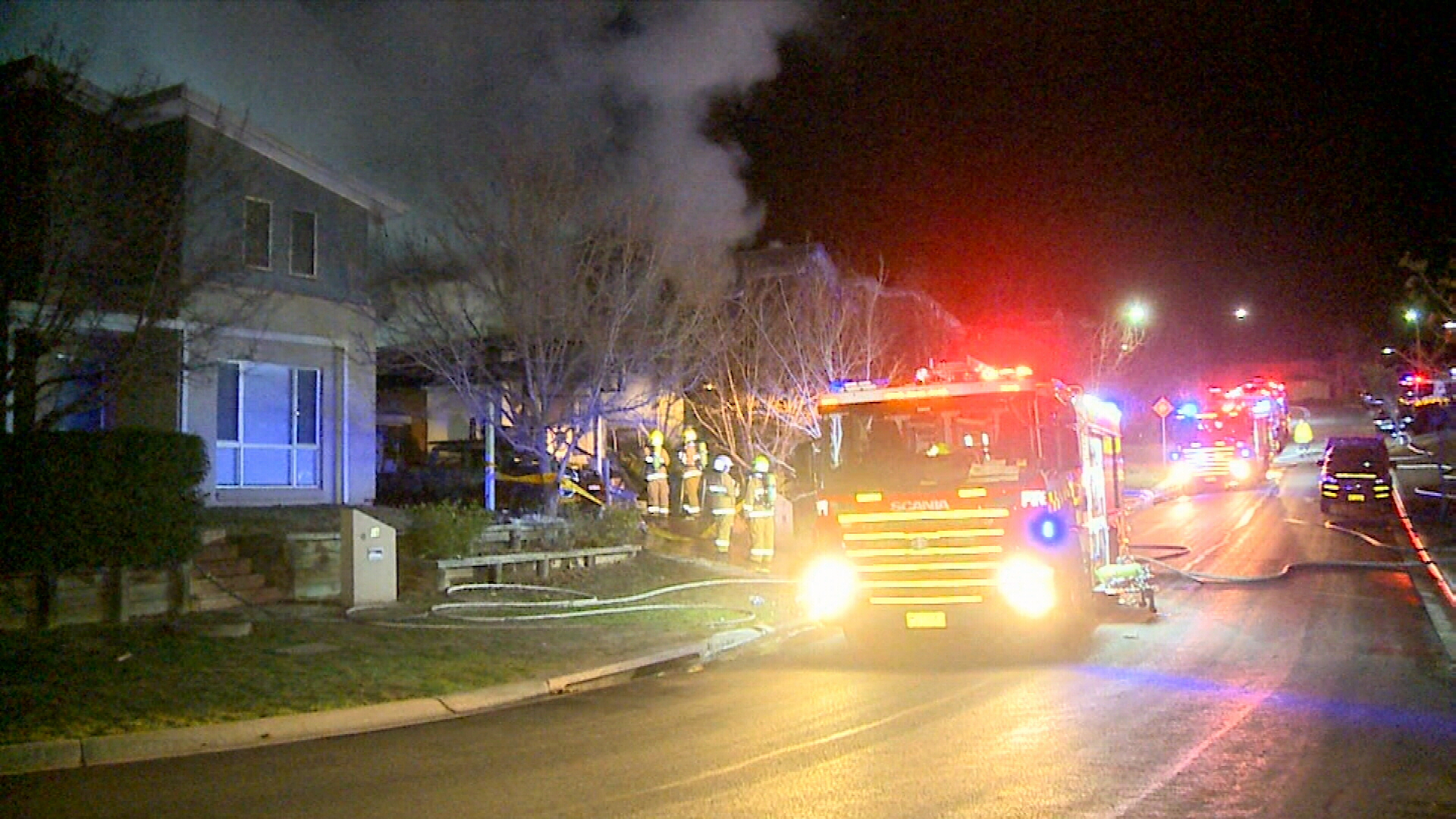 Sydney house catches fire twice in one night