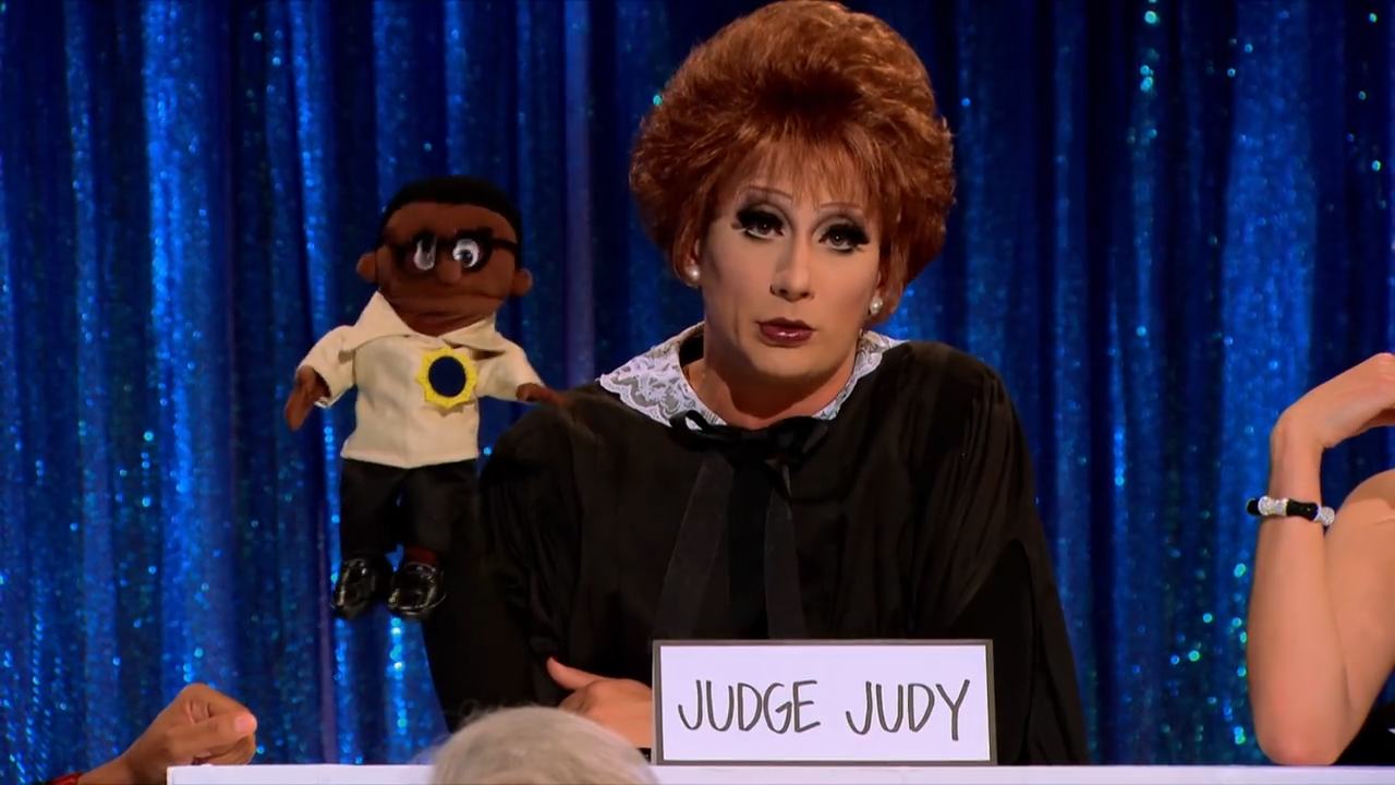 RuPaul's Drag Race: Bianca Del Rio plays Judge Judy