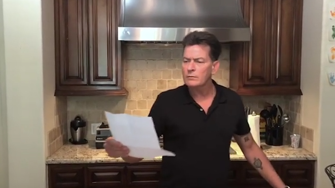 Charlie Sheen announces first ever Australian tour