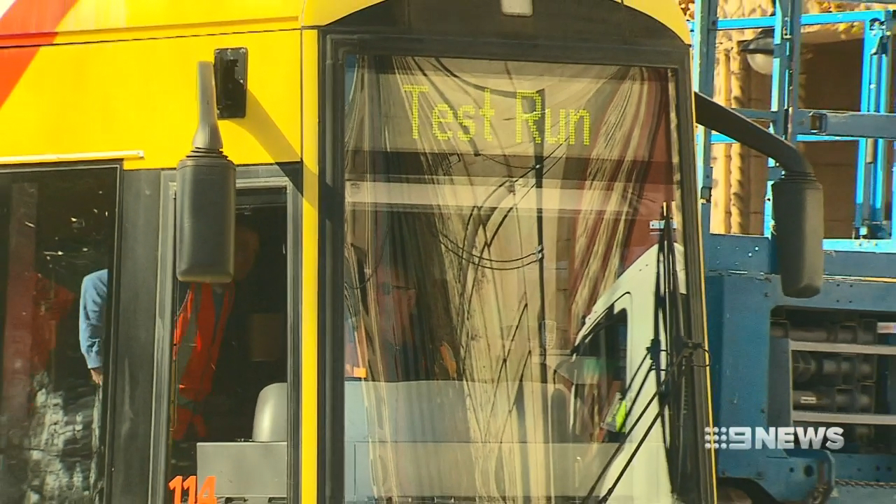 Costly delays for South Australian trams