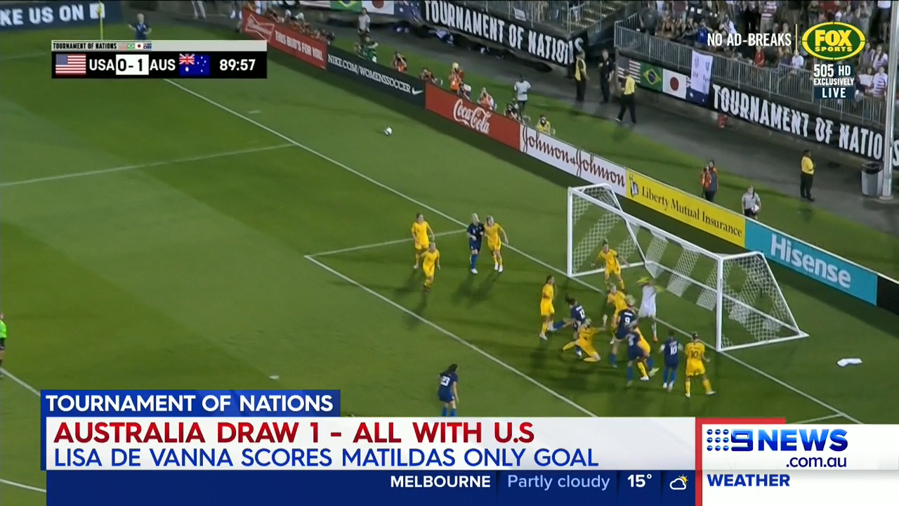 Matildas extend undefeated streak despite late drama