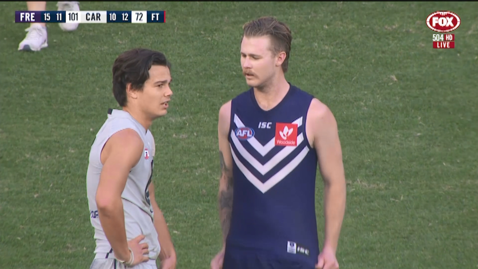 Freo overrun Blues in second-half blitz