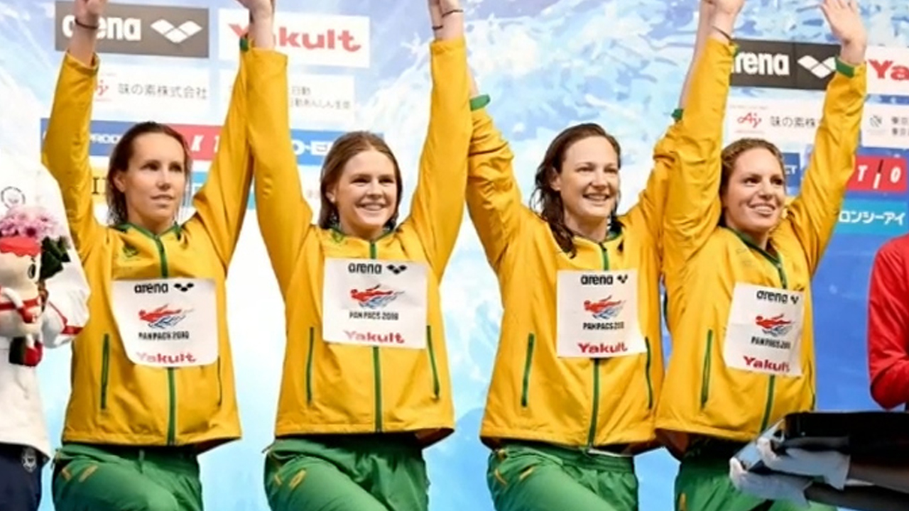 Campbell helps Aussies to more success at Pan Pacs
